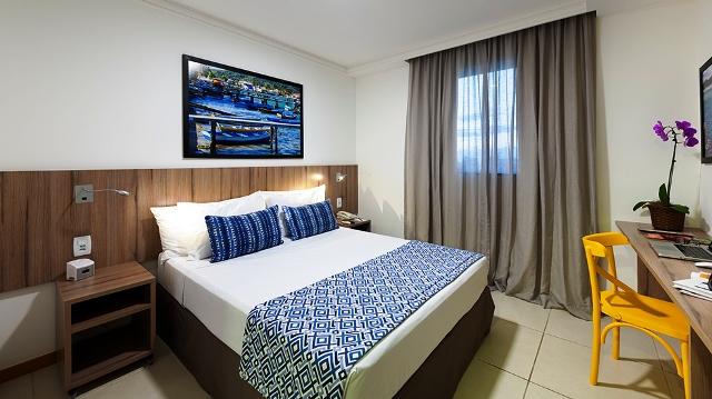 Um dos quartos do Matiz Oásis Cabo Frio Hotel