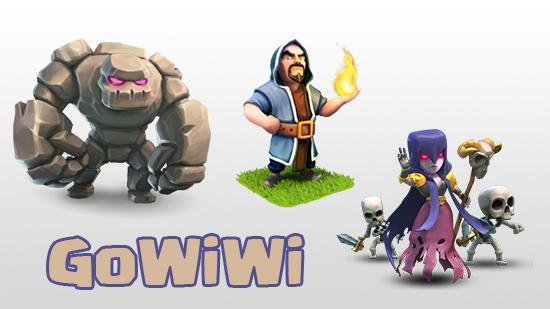 GoWiWi (Golem + Wizard + Witch)
