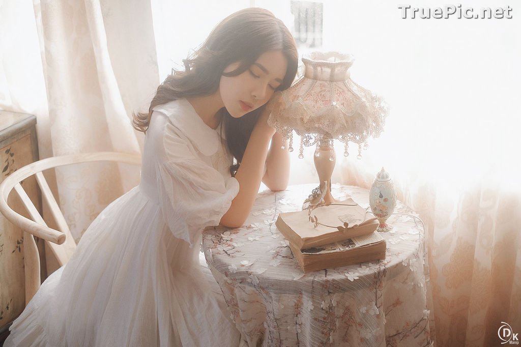 Image Vietnamese Beautiful Girl - The Lonely White Princess - TruePic.net - Picture-8