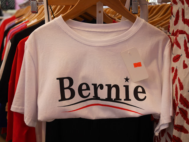 """Bernie"" shirt for sale in Zhaoqing, China"