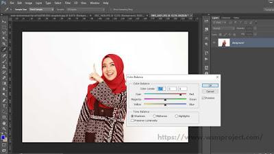 Perbaiki pencahayaan foto
