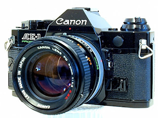 Canon AE-1 Program, Right Front View