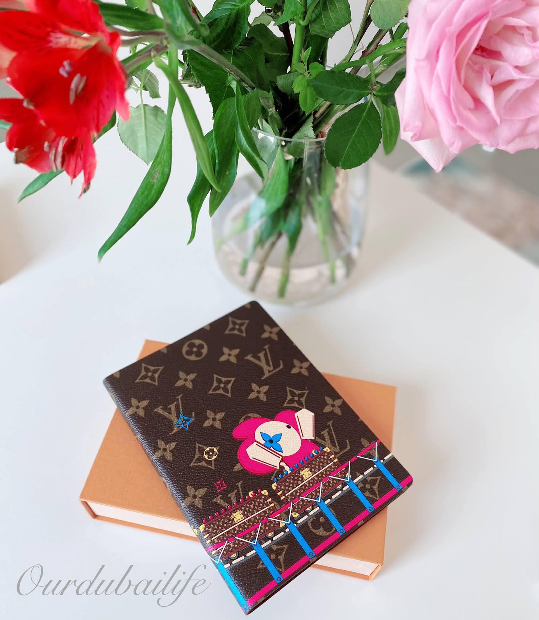 Louis Vuitton 2020 Xmas Trunk Roller Coaster Clemence Notebook