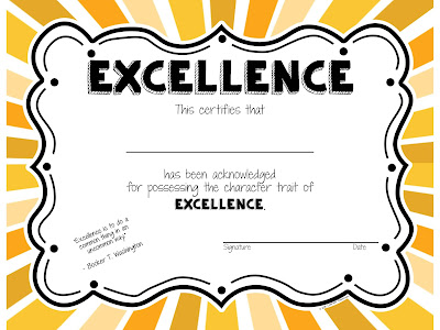 Celebrate character with character awards that recognize the whole student.