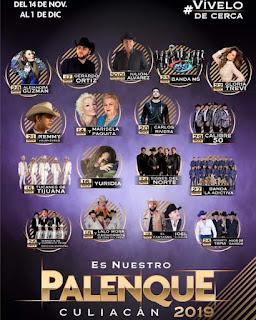 boletos palenque culiacán 2019