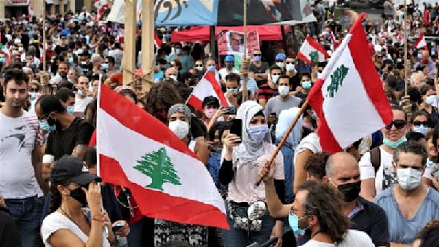 Lebanon's information minister Manal Abdel Samad announced her resignation
