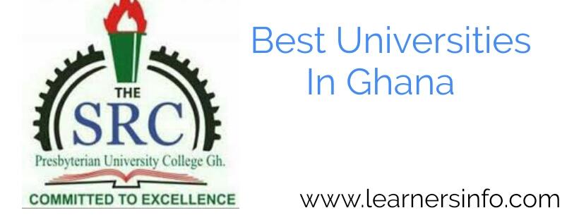 BEST UNIVERSITIES IN GHANA TO ATTEND