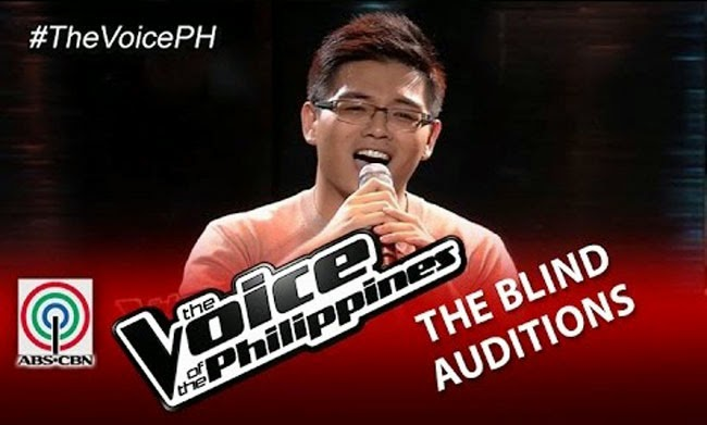 John Philippe Go Sings 'Hangang' on The Voice of the Philippines Season 2 Blind Audition Video Replay