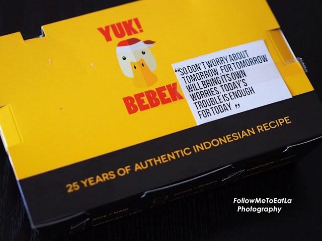 25 Years Of Authentic Indonesia Recipe -  YUK! BEBEK