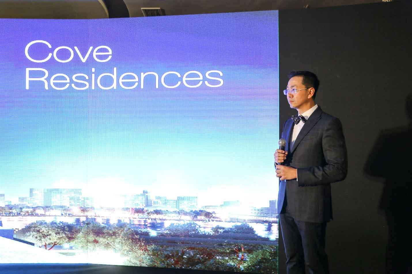 Empire City sự kiện giới thiệu thiết kế kiến trúc và căn hộ mẫu của Cove Residences