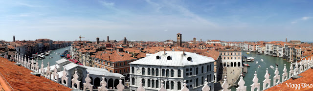 La vista mozzafiato alla Fondaco dei Tedeschi di Venezia