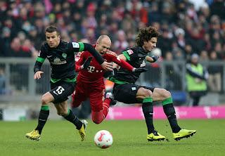 اون لاين مشاهده مباراة بايرن ميونيخ وفيردر بريمن بث مباشر 1-12-2018 الدوري الالماني اليوم بدون تقطيع