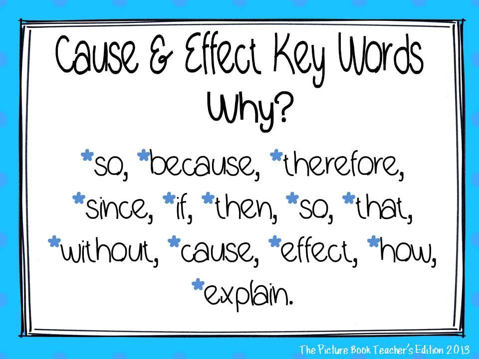 Cause  Effect - Lessons - Tes Teach