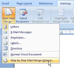 Akbar Prima Pribadi: Pengertian mail merge dan langkah-langkahnya