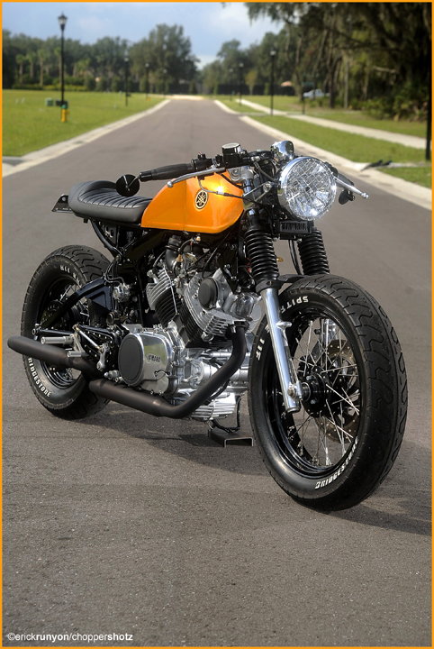Cafe Racer Wallpaper Iphone Yamaha 750 Virago Cafe Racer