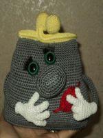 patron gratis monedero de crochet