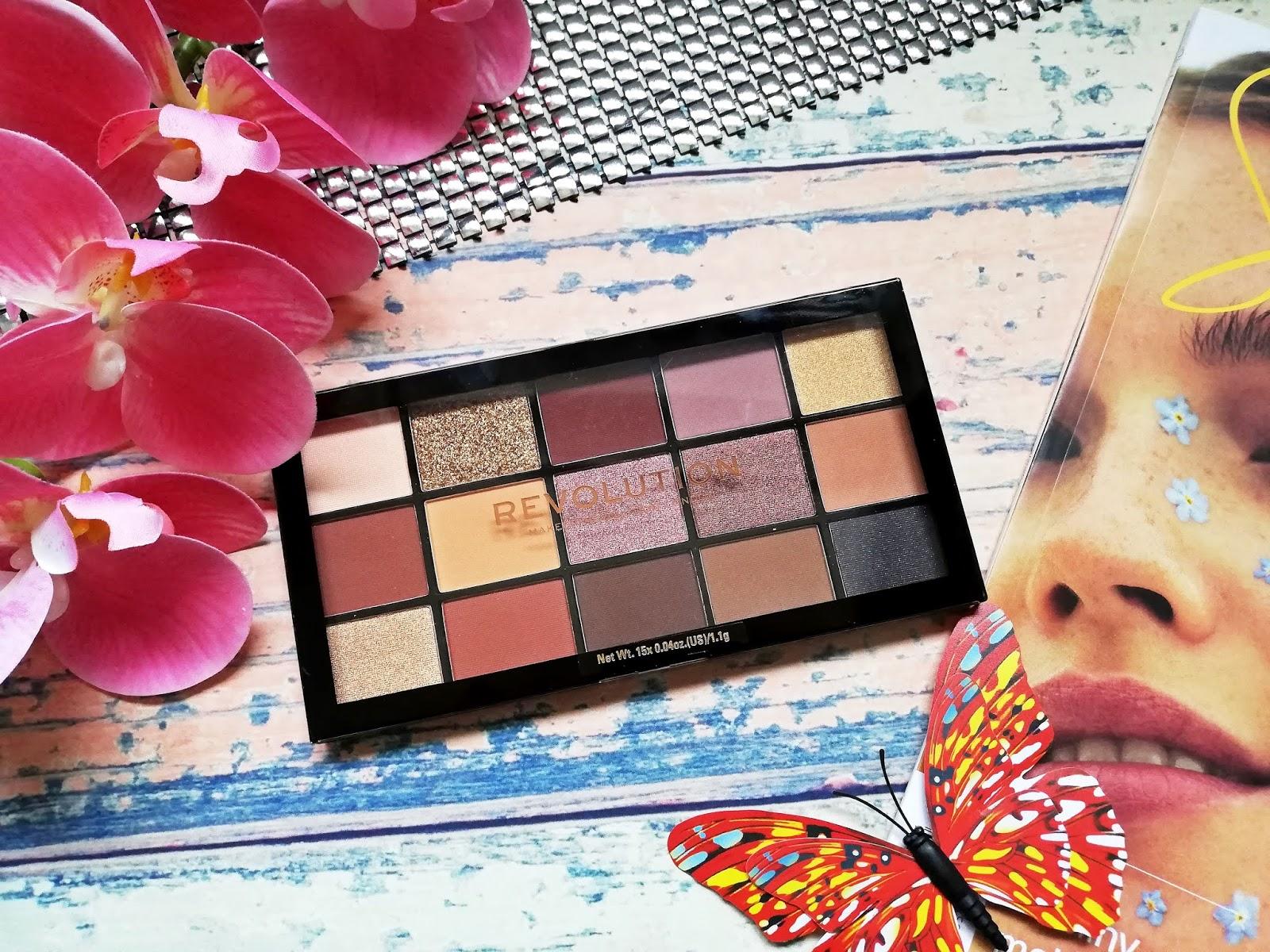 """Tania i dobra paleta cieni ~ Makeup Revolution """"Velvet Rose"""""""