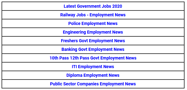 Highlights of Employment News December 2019