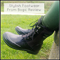 Bogs Sidney Cravat Wellies with Title Overlaid