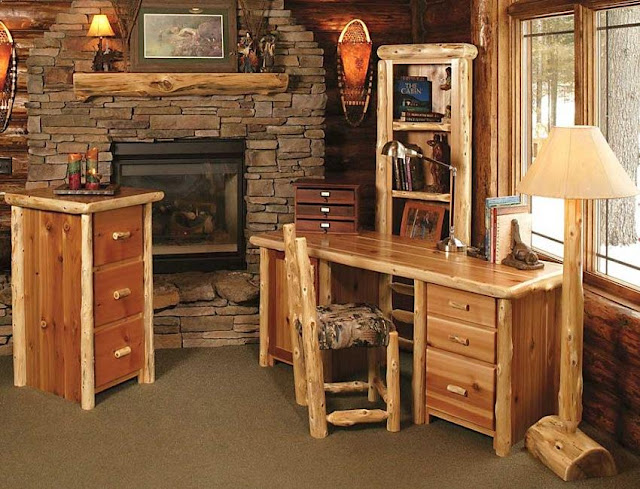 best buy rustic office furniture sets for sale online