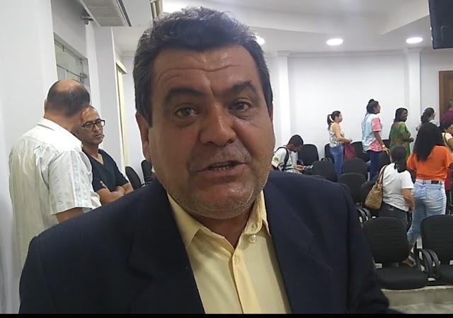 O vereador Rone do Junco pede que o destino da verba do pré-sal deve ser para a Jacoprev