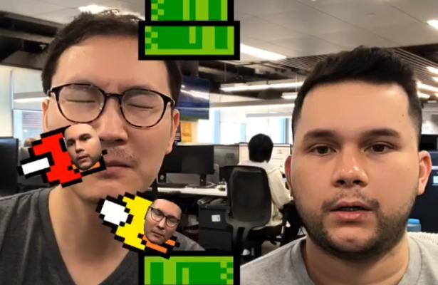 Cara Bermain Game Flying Face di Instagram