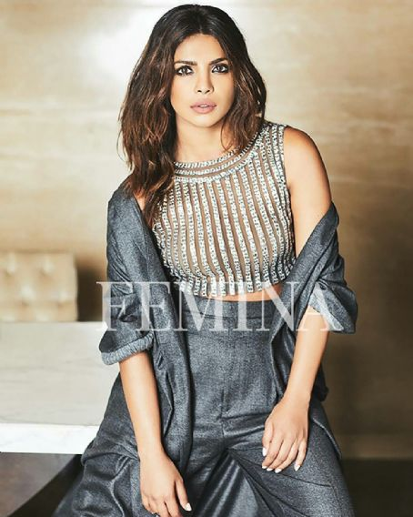 Priyanka Chopra Covers Femina November 2017 Issue