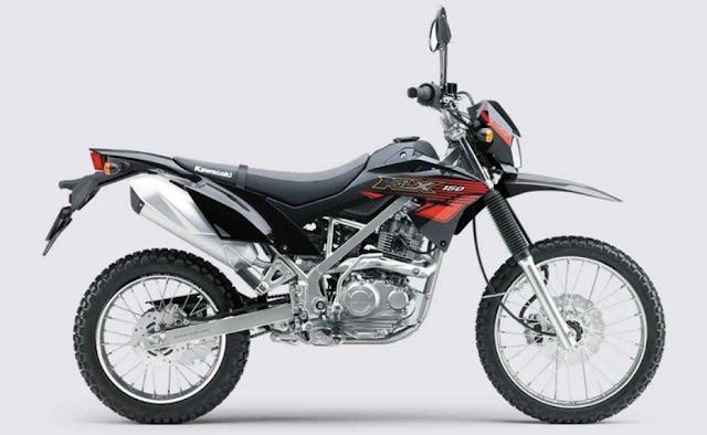 harga motor Motor Kawasaki KLX 150