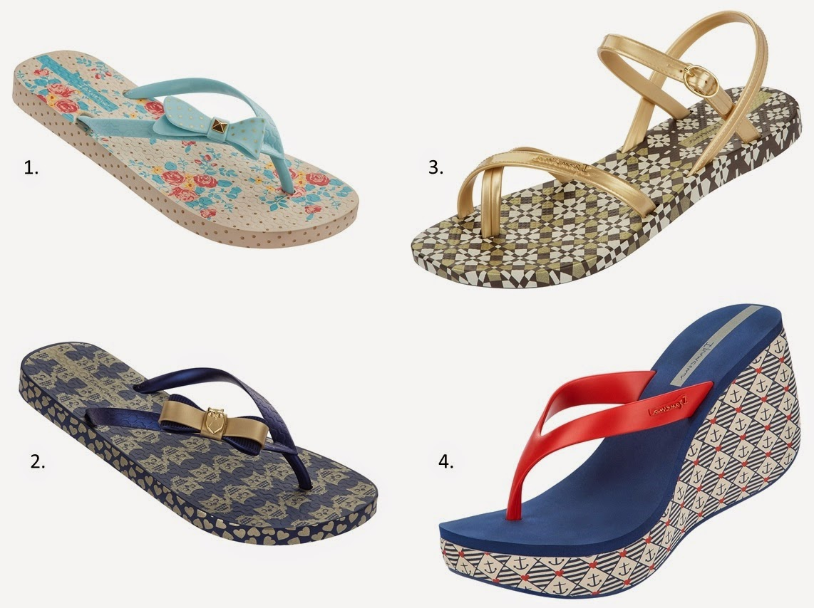 Ipanema flip flops shoe trends fashion