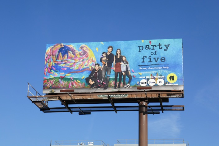 Party of Five TV remake billboard