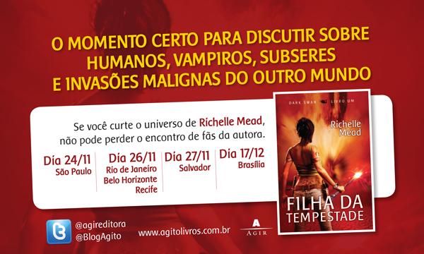 """Eventos de """"Filha da Tempestade"""" pelo Brasil. 17"""