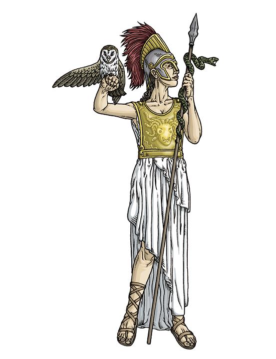 Roman Gods And Goddesses MinervaMinerva Roman Goddess