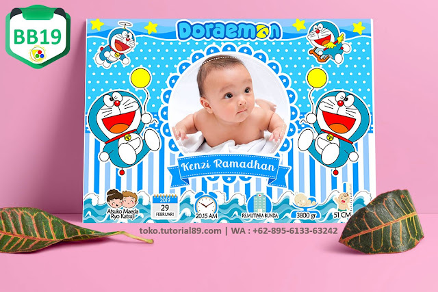Biodata Bayi Costume Baby Boy Kode BB19 | Doraemon
