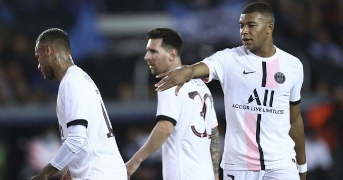 PSG players rating in Brugge 1-1 draw with Messi 7 and Mbappe 8