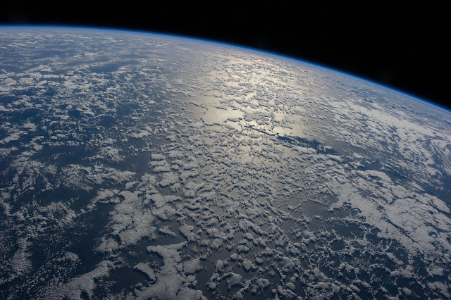 Earth seen from the ISS