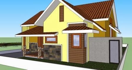 model atap pelana rumah minimalis yang tepat   update