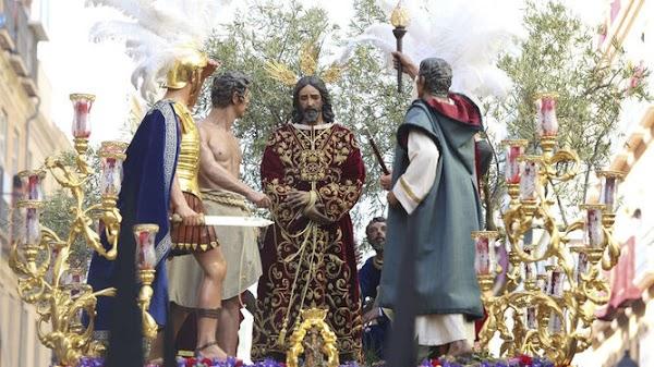 La hermandad del Rescate de Málaga expondrá a sus titulares en los tronos durante la Semana Santa