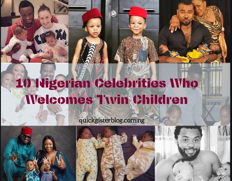 10 Nigerian Celebrities Who Welcomes Twin Children