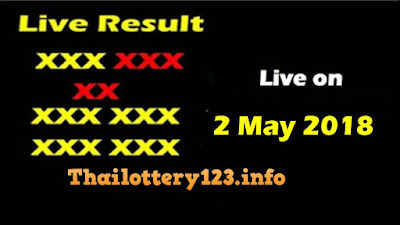 Thai Lottery 2 May 2018 Live Result Online Update