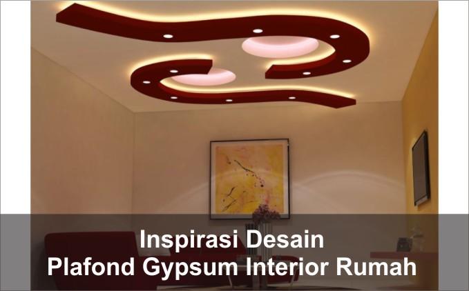 desain plafon unik interior