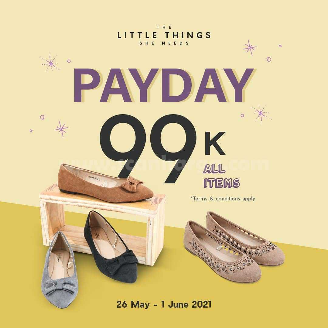Promo The Little Things She Needs PAYDAY Special Price Only Rp. 99K All Item