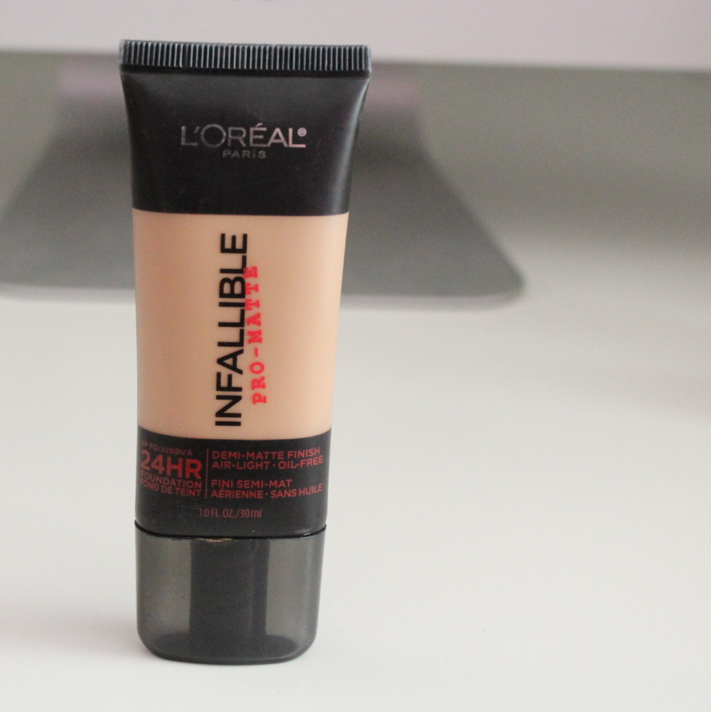 Loreal Paris Infallible Pro Matte Foundation Review Vanessa Jhoy Blog 24hr Claims That It Lasts 24 Hours Has A Demi Finish And Its Oil Free