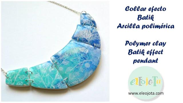 tutorial efecto batik arcilla polimerica