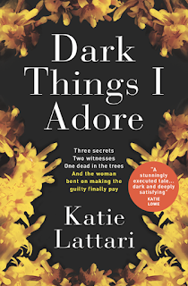 Book cover - Title in white on black background, surrounded by yellow flowers