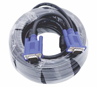 Cables de vídeo VGA 15 pines para monitores, proyectores