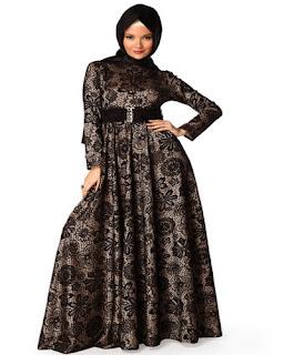 Baju Batik Muslim Untuk Pesta Pernikahan