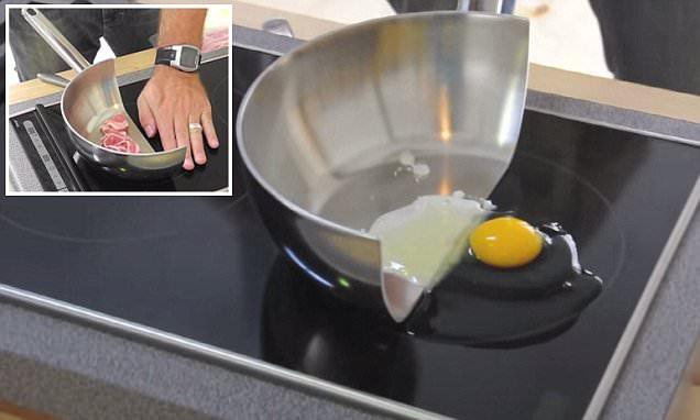 Dùng bếp từ có nướng được không