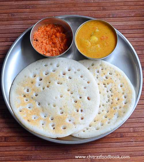 Set dosa / sponge dosa recipe without curd