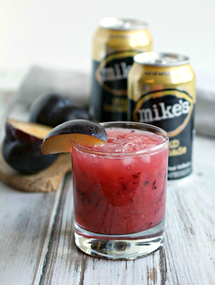 Plum Lemonade Smash