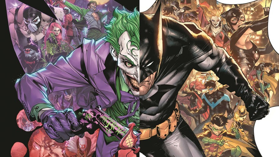 Batman, The Joker War, DC, Comics, 4K, #6.2562